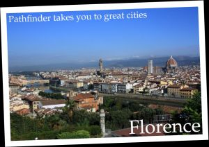 Pathfinder Travel takes you to great cities (Florence).